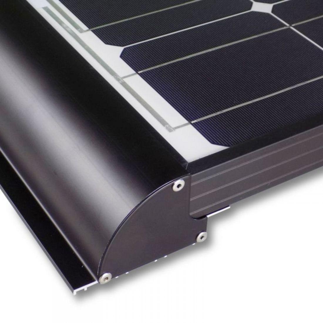 10 Watt Wohnmobil Solar Set - MPPT 10 DUO - LiMoPower - BLACK